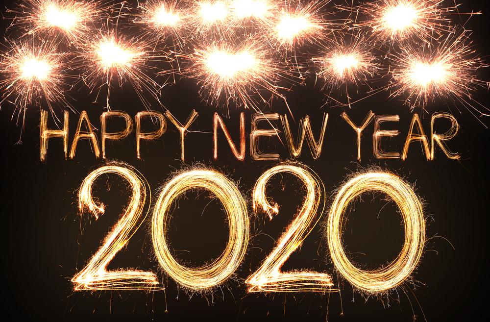Happy New Year 2020, Fireworks