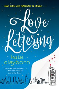Book cover of Love Lettering by Kate Clayborn