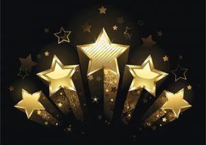 Five stars for my best romance novels of 2020